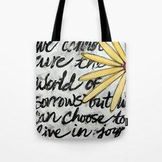 Live in Joy Tote Bag