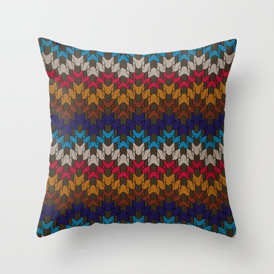 Daddy's Sweater Throw Pillow