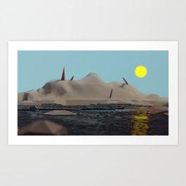 el Paraiso Art Print
