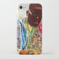 biggie smalls iPhone & iPod Cases featuring Biggie by Katy Hirschfeld