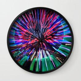 Night Light 144 - Wheel Wall Clock