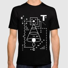 The Harsh Truth Of The Camera Eye MEDIUM Mens Fitted Tee Black