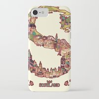 scotland iPhone & iPod Cases featuring S is for Scotland by Kelly Chilton