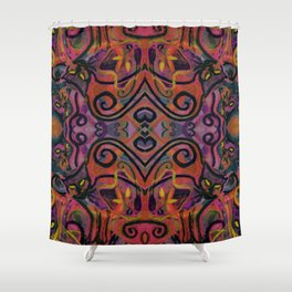 Wildfire Cats Shower Curtain