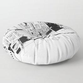 tokyo drinker Floor Pillow