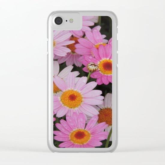 Petals, Petals, Petals Clear iPhone Case