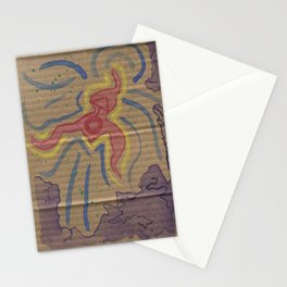 ACID Painting Stationery Cards
