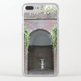 Longwood Gardens Autumn Series 3 Clear iPhone Case