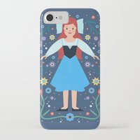 ariel iPhone & iPod Cases featuring Ariel by Carly Watts