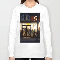 vancouver Long Sleeve T-shirts featuring Cartems Vancouver by RMK Creative