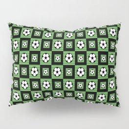 Soccer Motif Pattern Pillow Sham