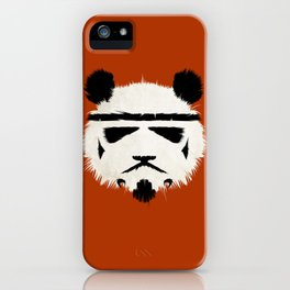 Panda Trooper iPhone Case