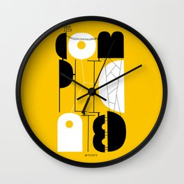 It's complicated Wall Clock