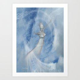 Heaven Bound .. fantasy art Art Print