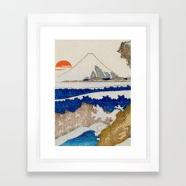 The Coast Searching Framed Art Print