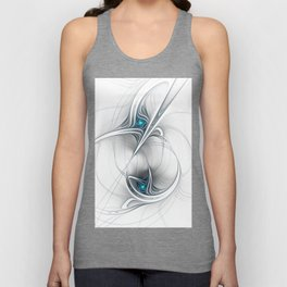 Come Together, Abstract Fractal Art Unisex Tank Top