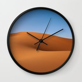 Desert Sand and Sky (Color) Wall Clock