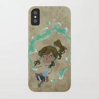 chibi iPhone & iPod Cases featuring Chibi Korra by Serena Rocca
