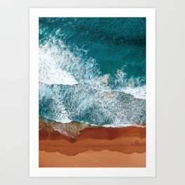 Coast 5 Art Print