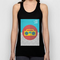 Nice People Like Music Unisex Tank Top