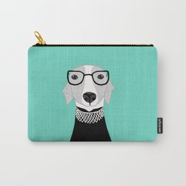 Ruth Bader Ginsburg Greyhound Carry-All Pouch