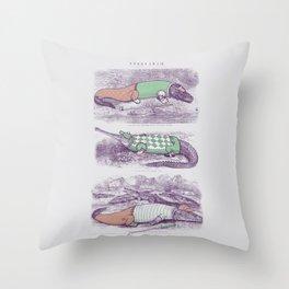 Golf Buddies Throw Pillow