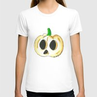 lantern T-shirts featuring Skull Lantern by KristenOKeefeArt