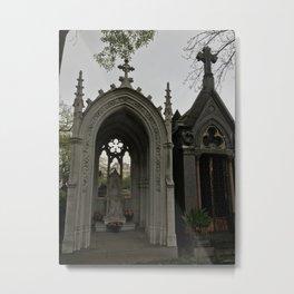 The Grey Grandeur Metal Print