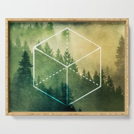 The Elements Geometric Nature Element of Earth Serving Tray