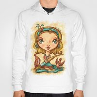 "artsy Hoodies featuring ""Artsy Aura"" by Alicia Templin"