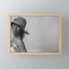 7573 Girl I Am Rachael enjoying Delray Beach Framed Mini Art Print