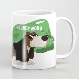 Hollywood Basset Hound Coffee Mug