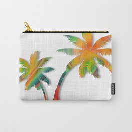 Palm Tree Twirl Carry-All Pouch