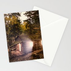 Light of the Cabin Stationery Cards