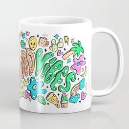 Good Vibes Doodle Coffee Mug