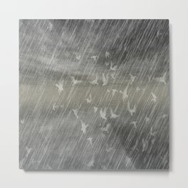 Rainy Landscape N.3 Metal Print