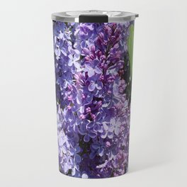 For the Love of Lilacs Travel Mug