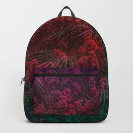 mlti brry flwr Backpack