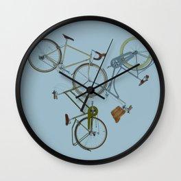 3 bikes Wall Clock