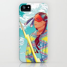 Thunder Woman iPhone Case