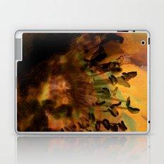 Earth Tones Flower Love Laptop & iPad Skin