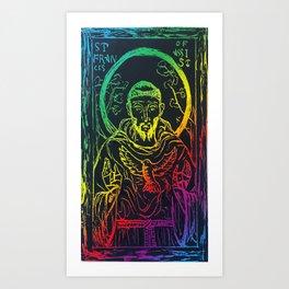 St. Francis of Assisi Art Print