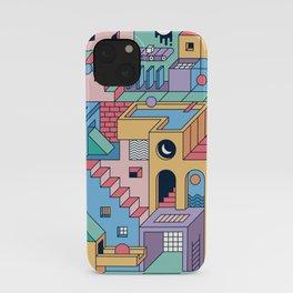 80's Escher iPhone Case