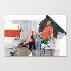 Football Fashion #1 Canvas Print