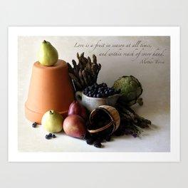 Fruit in Reach Art Print