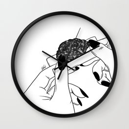 Rolling your mind (G) Wall Clock