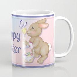 Brown Bunny and Basket Coffee Mug