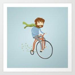 If I had a bike Art Print