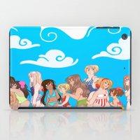 hetalia iPad Cases featuring Hetalia Girls by kitkatkatee