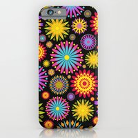 Bright And Colorful Flowers Slim Case iPhone 6s